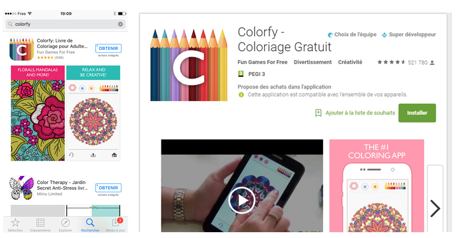 Tlchargement De Colorfy Sur App Store Ou Google Play