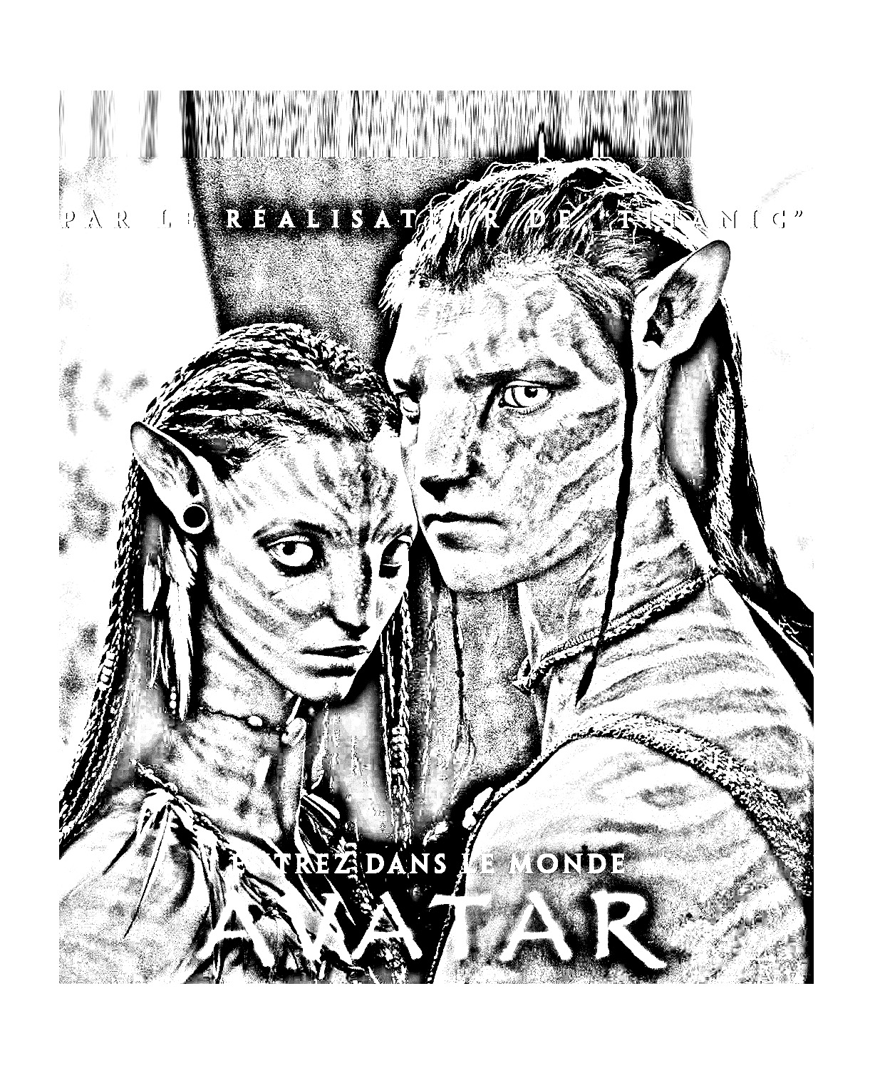 Recipe One Of The Movie Avatar: Coloriages Difficiles Pour Adultes