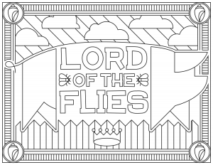 coloriage-adulte-Lord-of-the-Flies free to print