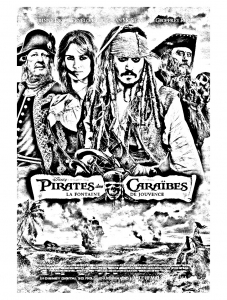 coloriage-film-pirates-des-caraibes-4 free to print