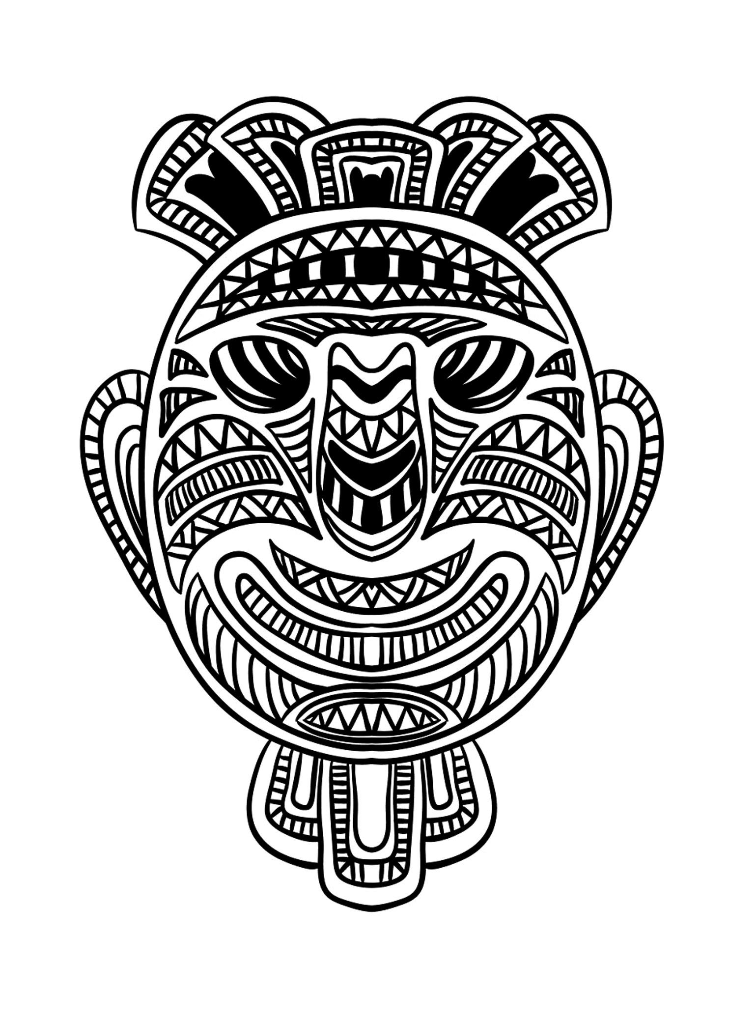 Masque africain 1A partir de la galerie : Afrique