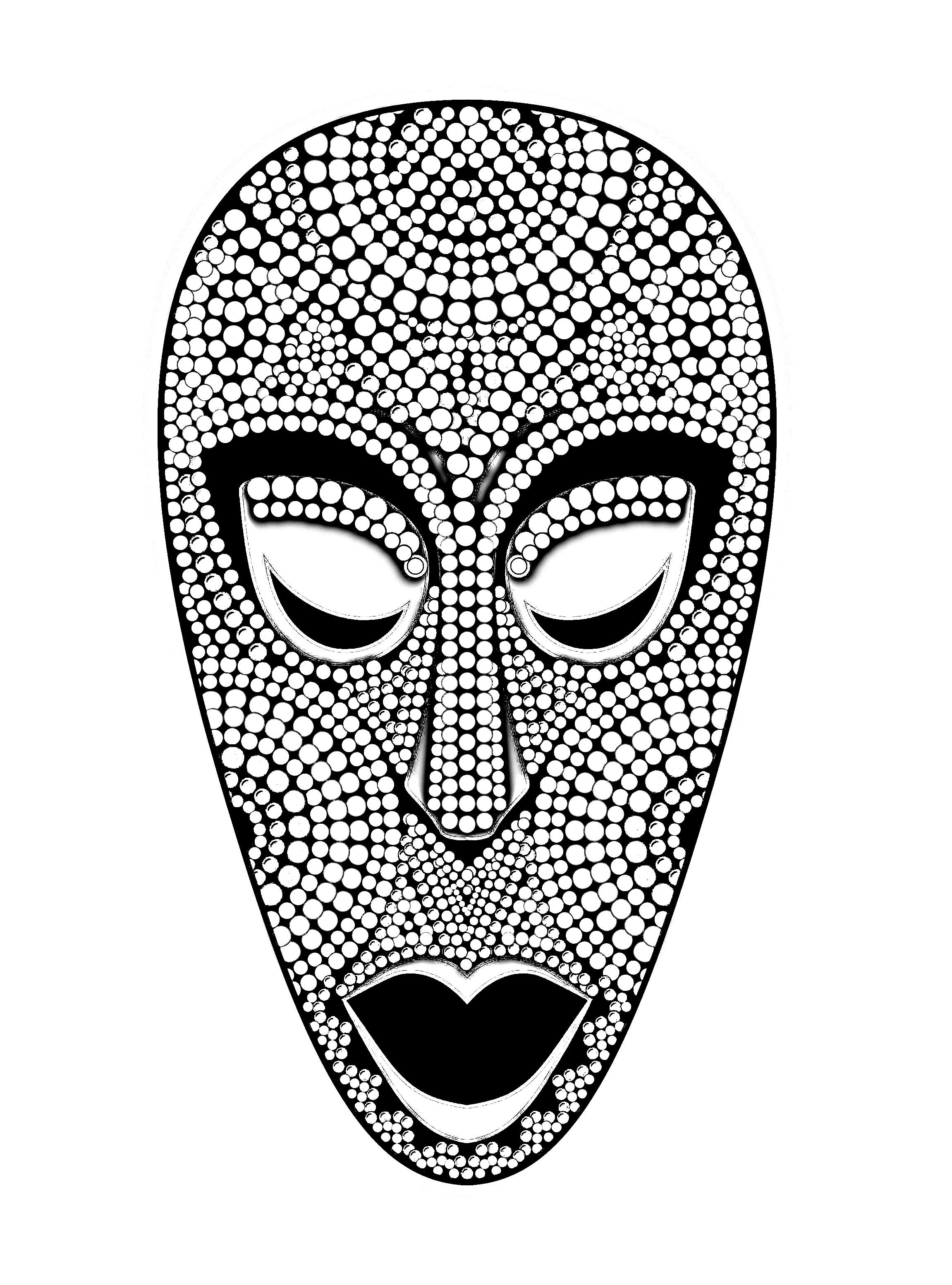 Masque africainA partir de la galerie : Afrique