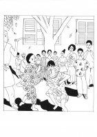 coloriage-adulte-afrique-rachel free to print