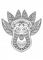 coloriage-adulte-masque-africain-6 free to print