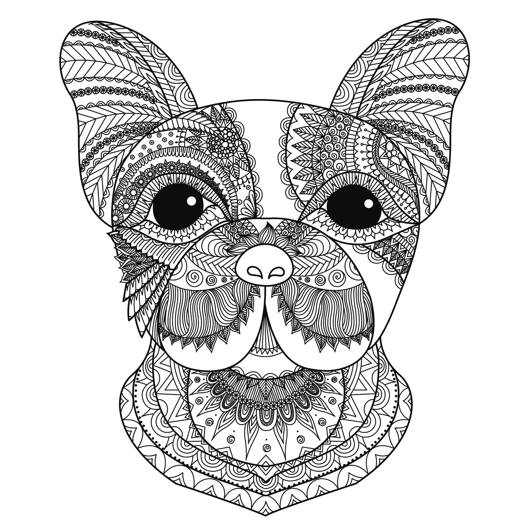 Tete de chien bimdeedeeA partir de la galerie : Calendrier De Lavent 2016