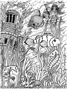 coloriage-poissons-difficile-5 free to print