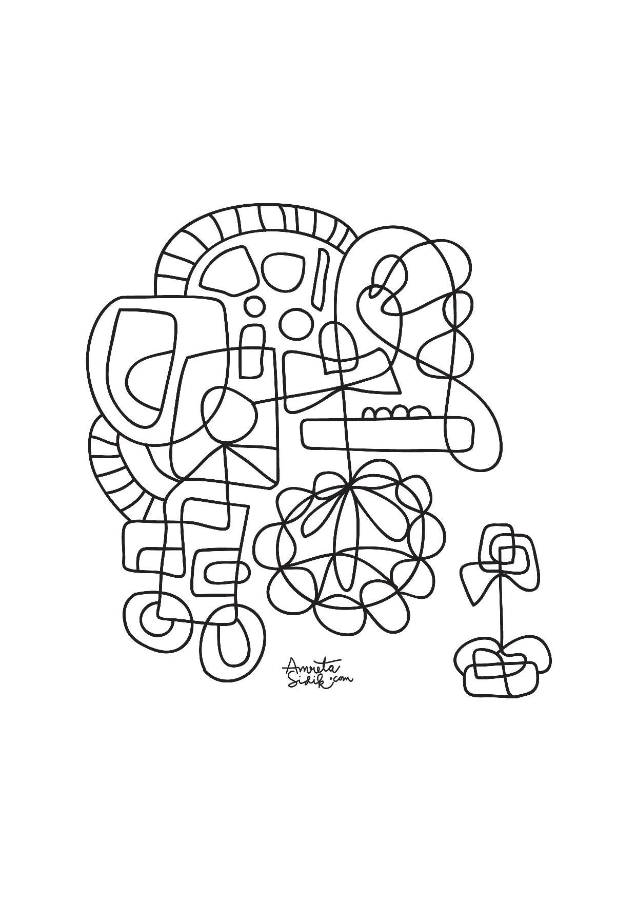 AbstraitA partir de la galerie : Anti StressArtiste : Amreta Sidik