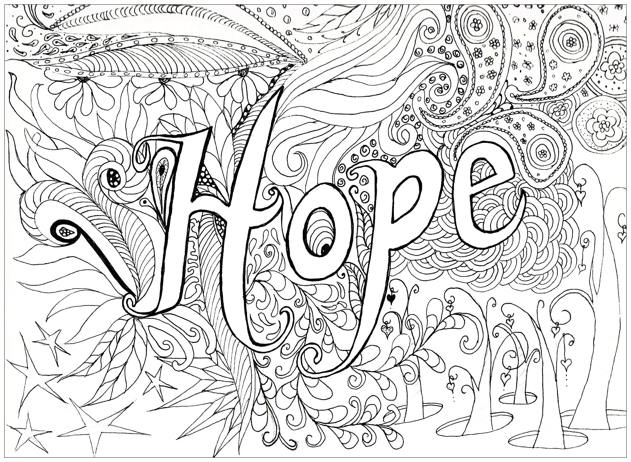 HopeA partir de la galerie : Anti Stress