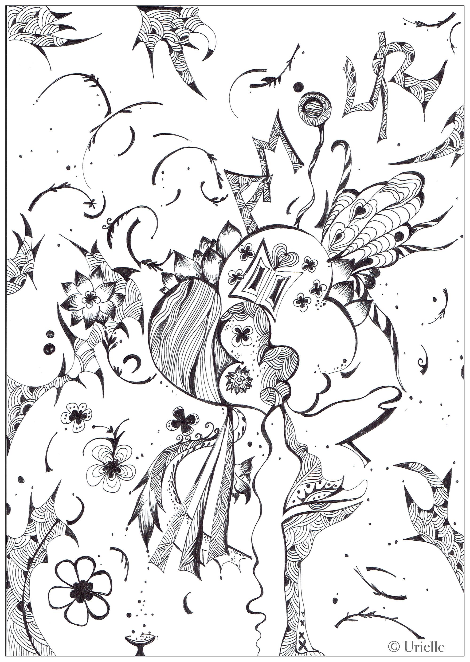 AmourA partir de la galerie : Anti StressArtiste : Urielle