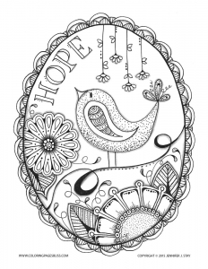 coloriage-adulte-anti-stress-jennifer-5 free to print