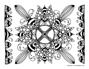 coloriage-adulte-difficile-6 free to print