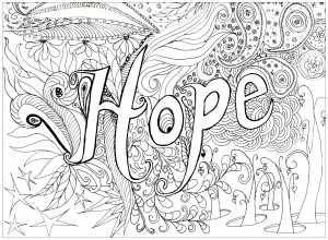 coloriage-adulte-hope free to print