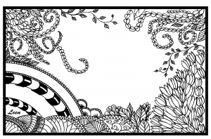 coloriage-adulte-leen-margot-jungle free to print