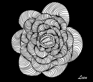 coloriage-adulte-leen-margot-l-escargot free to print