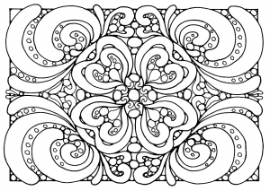 coloriage-adulte-motifs free to print