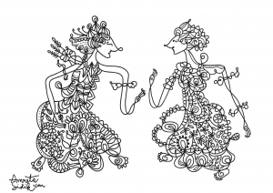 coloriage-adulte-poupee-javanaise-7 free to print