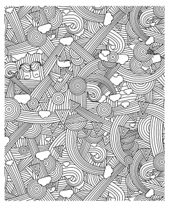 coloriage-adulte-zen-anti-stress-a-imprimer-arcs-en-ciel free to print