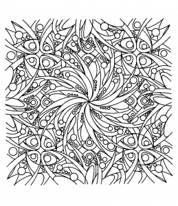 coloriage-adulte-zen free to print