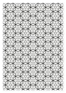 coloriage-difficile-zen-symetrie free to print