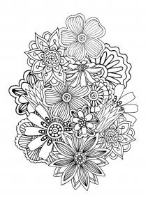 coloriage-zen-antistress-motif-abstrait-inspiration-florale-1-par-juliasnegireva free to print