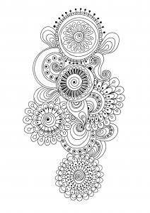 coloriage-zen-antistress-motif-abstrait-inspiration-florale-10-par-juliasnegireva free to print