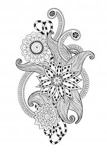 coloriage-zen-antistress-motif-abstrait-inspiration-florale-12-par-juliasnegireva free to print