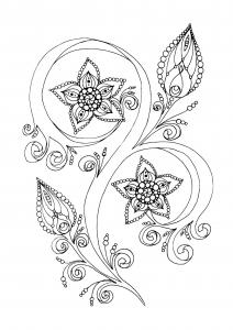 coloriage-zen-antistress-motif-abstrait-inspiration-florale-13-par-juliasnegireva free to print