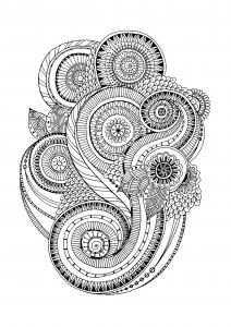 coloriage-zen-antistress-motif-abstrait-inspiration-florale-2-par-juliasnegireva free to print