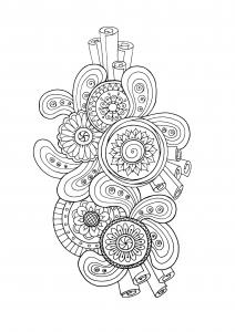 coloriage-zen-antistress-motif-abstrait-inspiration-florale-3-par-juliasnegireva free to print