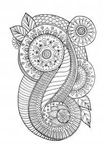 coloriage-zen-antistress-motif-abstrait-inspiration-florale-4-par-juliasnegireva free to print