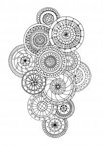 coloriage-zen-antistress-motif-abstrait-inspiration-florale-5-par-juliasnegireva free to print
