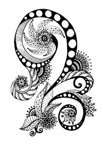 coloriage-zen-antistress-motif-abstrait-inspiration-florale-7-par-juliasnegireva free to print