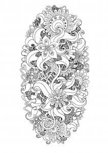coloriage-zen-antistress-motif-abstrait-inspiration-florale-9-par-juliasnegireva free to print