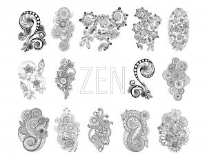coloriage-zen-antistress-motif-abstrait-inspiration-florale-groupement-par-juliasnegireva free to print