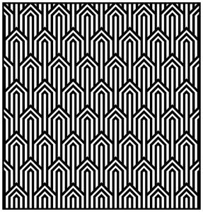 coloriage-adulte-motifs-geometriques-art-deco-1 free to print