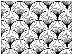 coloriage-adulte-motifs-geometriques-art-deco-2 free to print