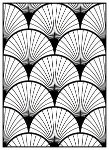coloriage-adulte-motifs-geometriques-art-deco-3 free to print