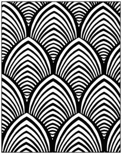 coloriage-adulte-motifs-geometriques-art-deco-4 free to print