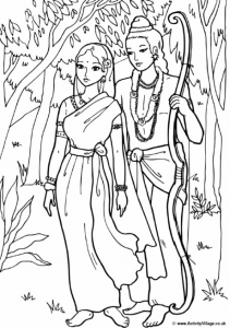 coloriage-inde-bollywood free to print
