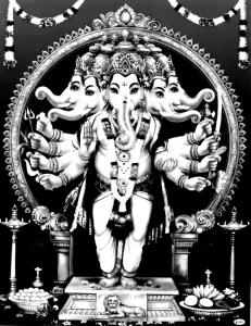 coloriage-inde-ganesha-elephant free to print