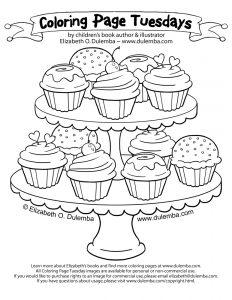 cupcakes-coloring-pages-125 free to print