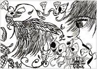 coloriage-adulte-dessin-Doodles 02-par-valentin free to print