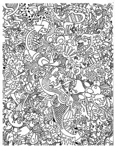 coloriage-adulte-gros-foutoir free to print