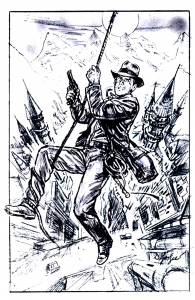 coloriage-indiana_jones_crusade-ebauche-affiche free to print