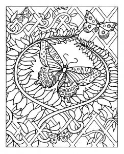 coloriage-jolis-papillons free to print