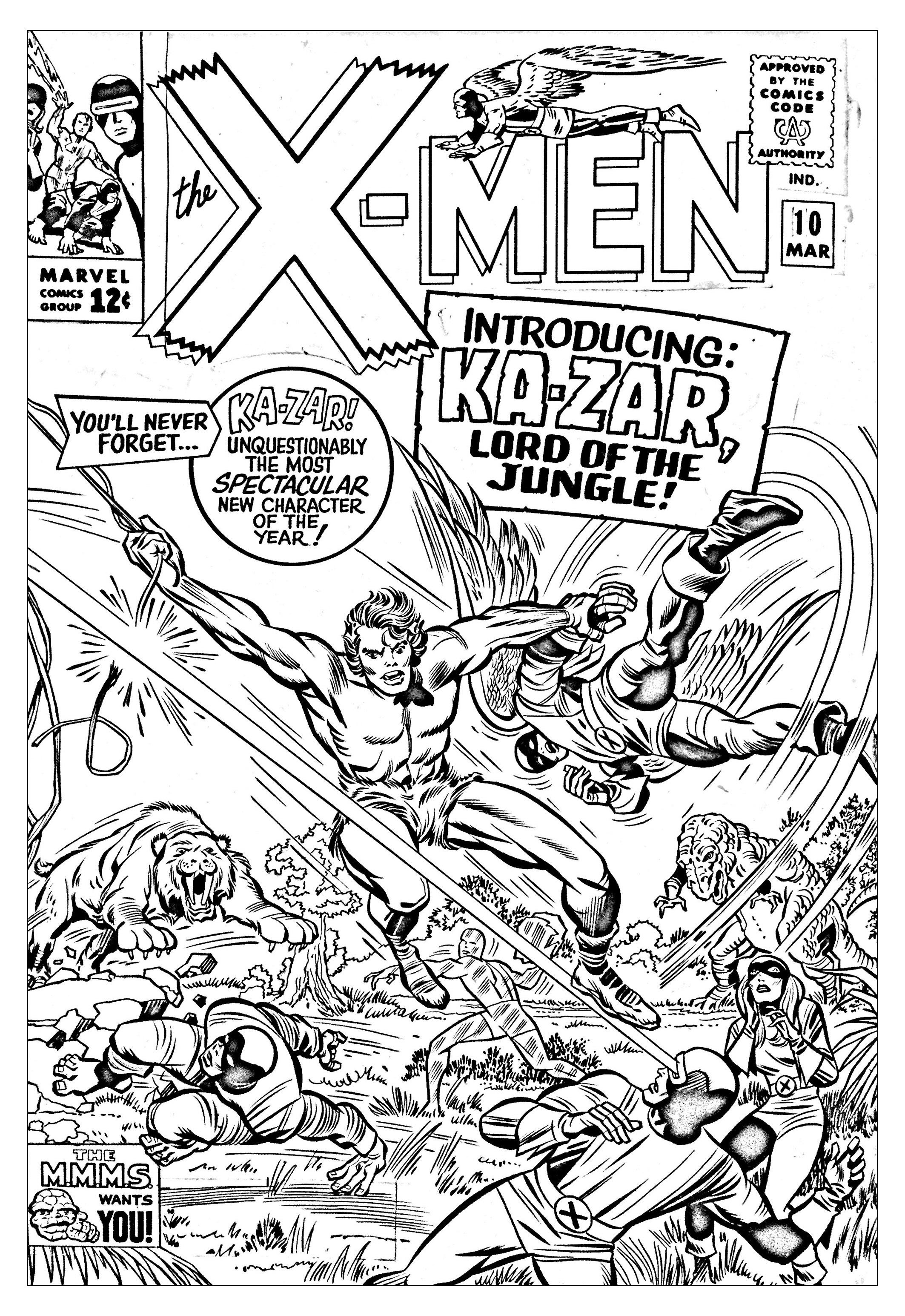 Comics xmen 1965 couverture inediteA partir de la galerie : Calendrier De Lavent 2016