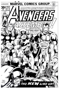 coloriage-adulte-avengers-couverture free to print