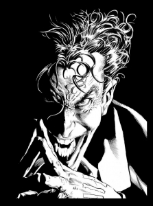 coloriage-adulte-joker free to print
