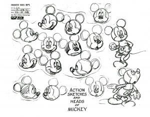 coloriage-adulte-mickey-mouse free to print
