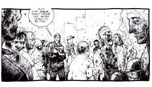 coloriage-adulte-walking-dead free to print